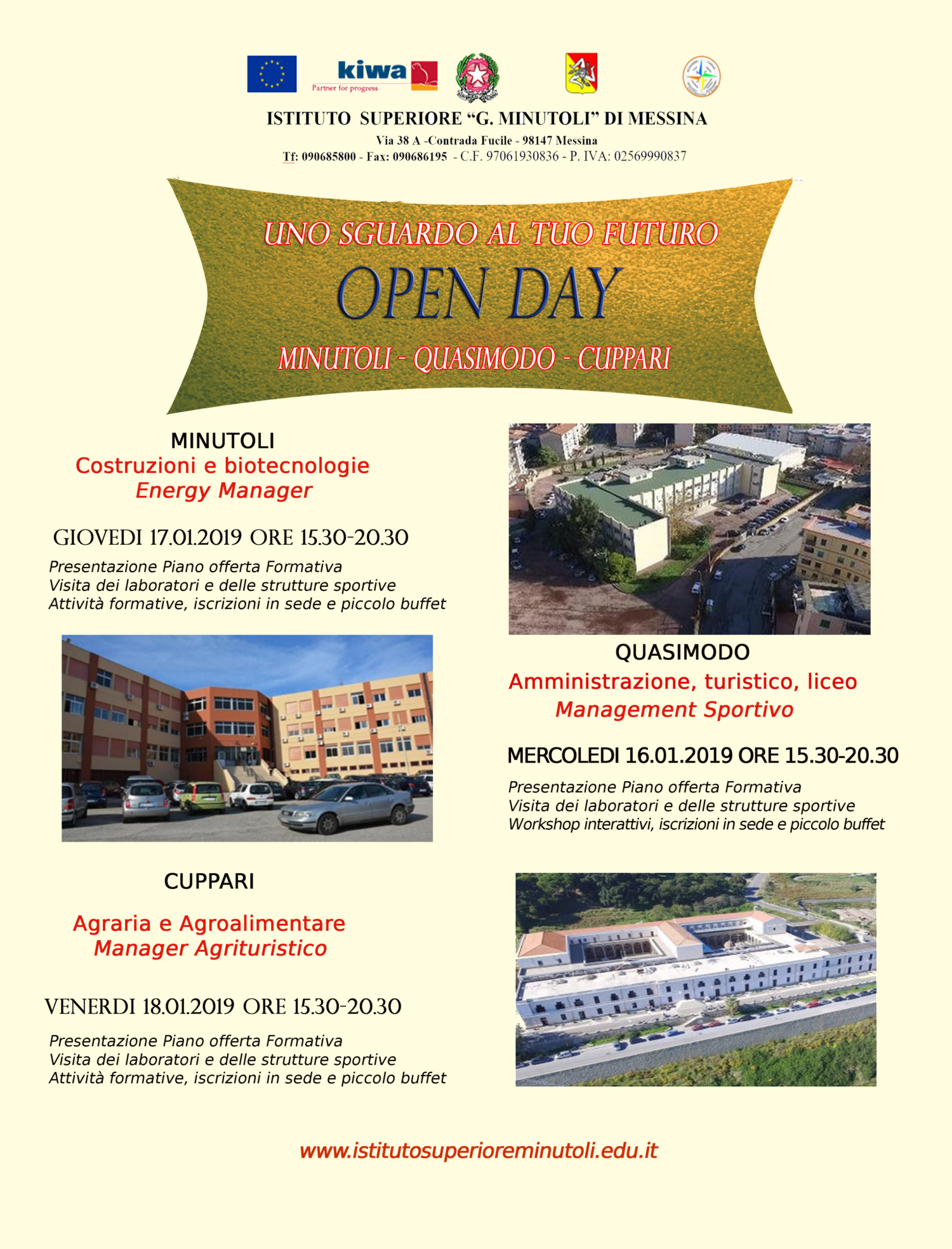 locandina openday